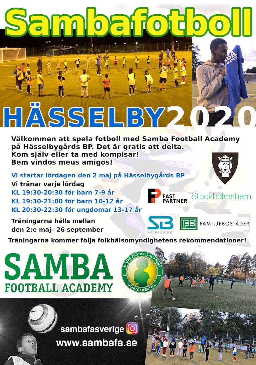 Välkommen till Sambafotboll i Hässelbygård!